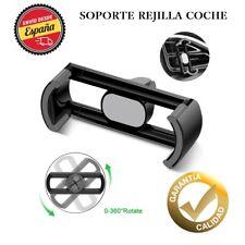 Soporte Movil Coche de Rejilla Universal Ventilacion Giratorio para iPhone X 7/8