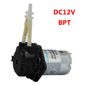 nw Dosing Pump DC Peristaltic Liquid Hose Pump Self-priming Flat Plate Type