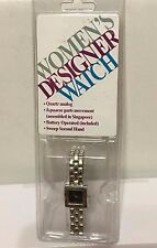 Ladies Designer Gold-Tone Watch 22mm Brand New in Package. Japanese movement.