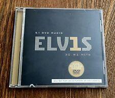 Elvis Presley 30 #1 Hits Rare 5.1 Surround Sound DVD Audio Nice!