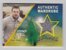 2017 Arrow Season 4 B1 Amell as Oliver Queen (Exclusive Binder Wardrobe Card)