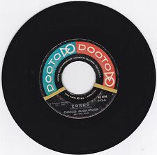 GROUP HARMONY 45 - CHARLES Mc CULLOUGH & THE SILKS - ZORRO - ON DOOTO