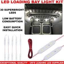 12V ultra luminosa 30LED Led Luce Interni Auto Luce Kit PER LWB Van Transit VW UK