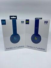 NEW & SEALED - Beats Solo3 Wireless On-Ear Headphones - POP - Blue or Indigo