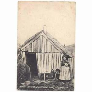 GWARFFORDD Nanny Jenkins Eccentric Old Welsh Woman, Lampeter Postcard Unused