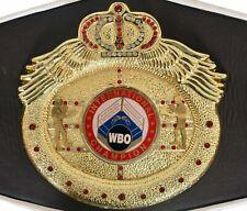 WBO Boxing International Champion Ship Replica Belt.Adult Full Size