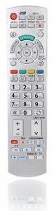 Ersatz Fernbedienung Passend für Panasonic N2QAYB000504 Viera TV Remote
