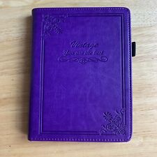 ACdream New Kindle 8th Generation Vintage Purple Leather Book Case