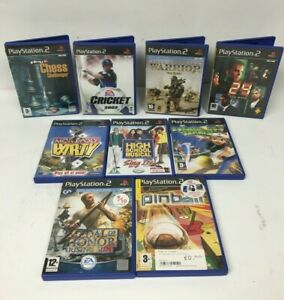 Playstation 2 Game Bundle (10 Games)