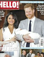 Hello Magazine Meghan Markle Prince Harry And Charlie Royal Baby Special Issue