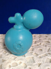 Vintage 80's Blue Perfume Water Squeeze Squirt Toy Non Stamped