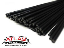 ABS Plastic Welding Repair Rods-20ft, 20pk-Black-12in x 3mm
