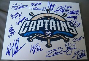 2019 Lake County Captains Team Signed Photo Bo Noah Naylor Ethan Hankins Auto