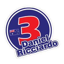 DANIEL RICCIARDO Sticker Decal Car AUSSIE RACING Driver #0612EN