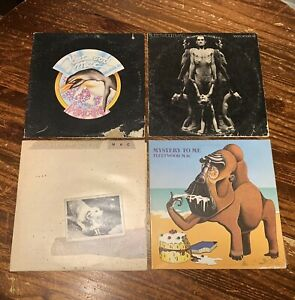 FLEETWOOD MAC Vinyl LP Record Lot Penguin Heroes Tusk Mystery To Me Original