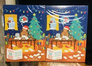 Trader Joe's Chocolate Advent Calendar 2020 limited edition. Lot of 4. A+Seller
