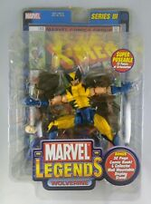 Marvel Legends Series III Wolverine Action Figure with Comic Book #133, ToyBiz
