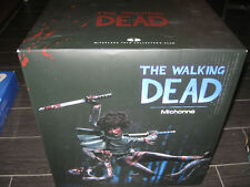 NEW McFarlane The Walking Dead MICHONNE Resin Statue Signed by Kirkman #344