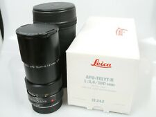 LEICA APO-TELYT-R 3,4/180 3-cam für SL/SL2 R3-R7(R8/9) TOP OVP MINT boxed case