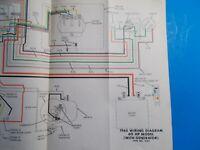 1975 Johnson Factory Wiring Diagram For The 50 Hp Model W Alternator Ebay