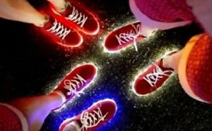 Mens Womens Lighting Shoes Red Blue Team GB Rio Lights Trainers Olympic Ceremony