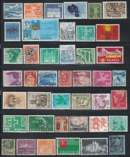 Switzerland - 50 Different Stamps (E)