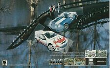 Original 2003 Kemco Top Gear Rally Nintendo GBA racing video game print ad page