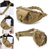 Hiking Casual Fishing Bumbag Camouflage belt bag Tactical Fanny Pack Waist bags