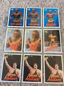 1990 Classic WWF Card Collection Lot of 54 Cards