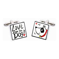 Love From The Dog con Colletto Rosso Gemelli da Sonia Spencer, prezzo consigliato £ 20!