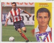 AGUILERA # ESPANA ATLETICO MADRID LIGA 2003 ESTE STICKER CROMO