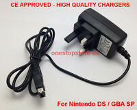 UK Wall Travel Plug for NINTENDO DS & GAMEBOY ADVANCE GBA SP - NDS Mains Charger