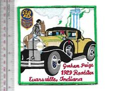 Vintage Automobile Graham Paige 1929 Roadster Promo Evansville, Indiana