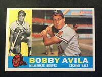 1960 Topps #90, Bobby Avila, Near Mint, (NM)