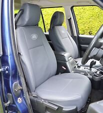 Land Rover Discovery 3 - 5 Seater Tailored Waterproof Leather Look Seat Covers