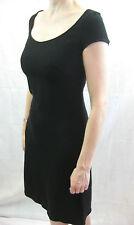 Piazza Sempione Size 40 or 8 Black Classic Elegant LBD Dress