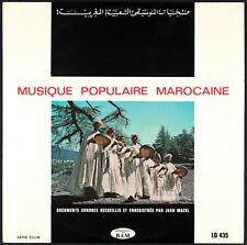 MUSIQUE POPULAIRE MAROCAINE - LP BAM LD 435