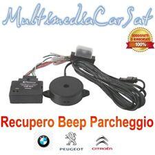 Recupero Ripristino Beep Cicalino Parcheggio Autoradio Peugeot 407 807 06946