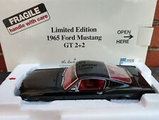 Danbury Mint 1965 Ford Mustang GT 2+2 1:24 Scale Diecast Limited Edition Car