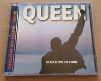 Queen - Heaven For Everyone UK Promo Cd 1995 Brian May Freddie Mercury Nr Mint!