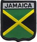 Jamaica Embroidered Patch