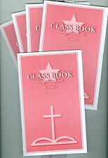 International Star Class Book no.1 pack of 5 attendance book Replaces Meigs Star