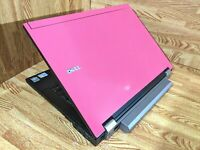 "Dell Latitude E6400 Laptop 14""-Zorin 15 OS-Core2 2.53GHz-4GB RAM-160GB HDD-PINK!"