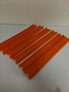 """Lot of 6 - Replacement 12"""" Straight Tracks for Hot Wheels Ultimate Garage EUC"""