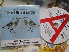 David Rotheray The Sparrow, The Thrush & The Nightingale PRPSD102 Promo CD Sngle
