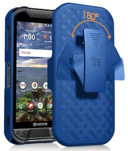 Kickstand Case Slim Cover + Belt Clip Holster for Kyocera DuraForce Pro 2 E6910