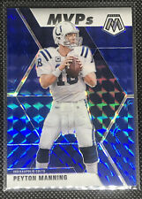 2020 Mosaic Peyton Manning Blue Prizm MVP'S 09/99🏈🏈🔥🔥