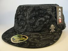 Circa Fitted Hat Cap Size L/XL Paisley Infantry Black