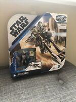 Star Wars Mission Fleet Speeder Bike Mandalorian The Child Action Figures NIB