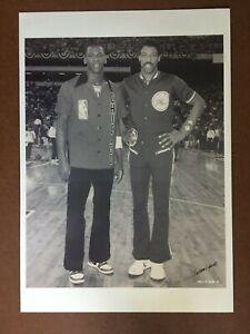 Michael Jordan & Julius Erving - 8 1/2 x 12 - Type III Photo!